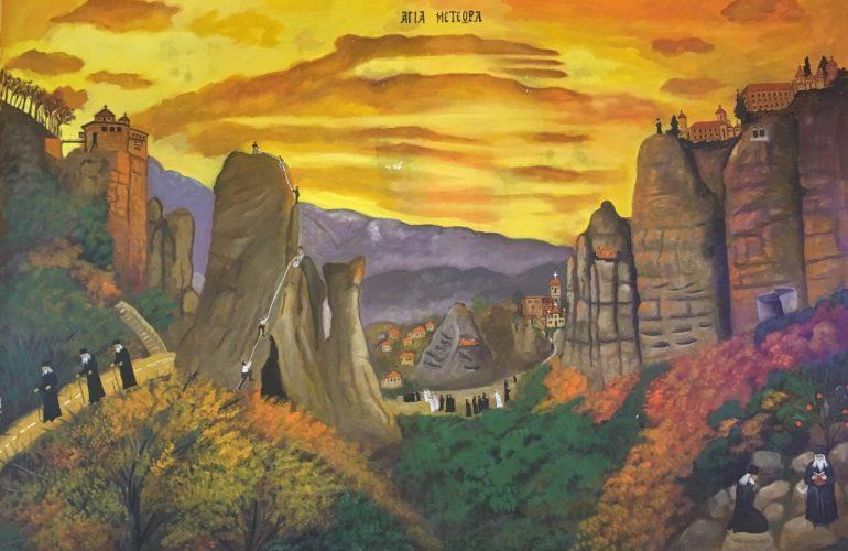 Meteora.... อารามลอยฟ้า สถานที่ต้นแบบอาณาจักร The Mountain and The Vale ในซี่รี่ย์ Game of Thrones 15 - Meteora