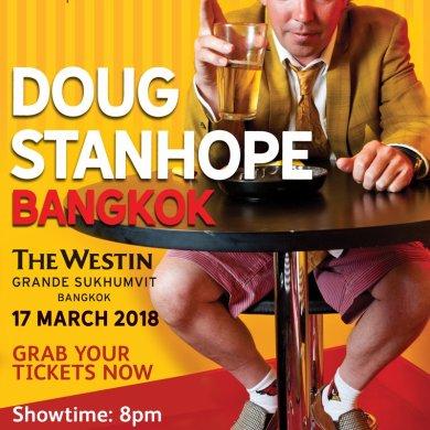 มิติใหม่แห่งความสนุก...หัวเราะกันให้สุดเสียง กับการแสดงครั้งแรกในไทยของ ดั๊ก สแตนโฮป ที่โรงแรม เดอะ เวสทิน แกรนด์ สุขุมวิท 15 -