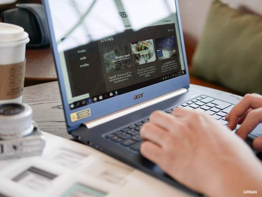 รีวิวโน๊ตบุ๊ค ACER SWIFT 5 เจนใหม่ 2018 แรงแต่เบาเว่อร์ Intel Core i7 หนักแค่ 0.97Kg 14 - Acer