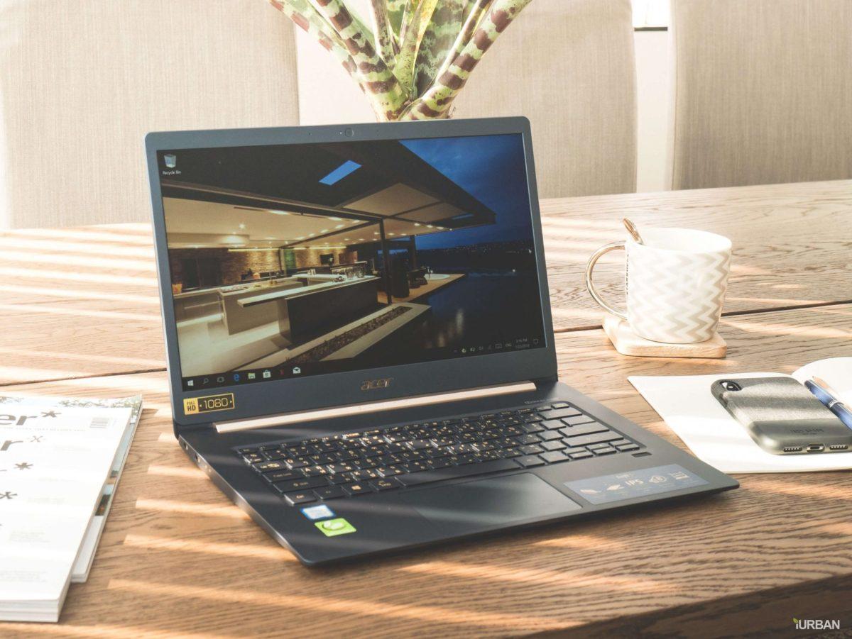 รีวิวโน๊ตบุ๊ค ACER SWIFT 5 เจนใหม่ 2018 แรงแต่เบาเว่อร์ Intel Core i7 หนักแค่ 0.97Kg 37 - Acer