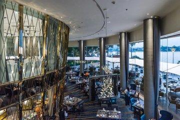ละลานตากับบุฟเฟ่ต์นานาชาติมื้อค่ำ ณ ห้องอาหารริเวอร์บาร์จ โรงแรมชาเทรียม ริเวอร์ไซด์ กรุงเทพฯ 12 -