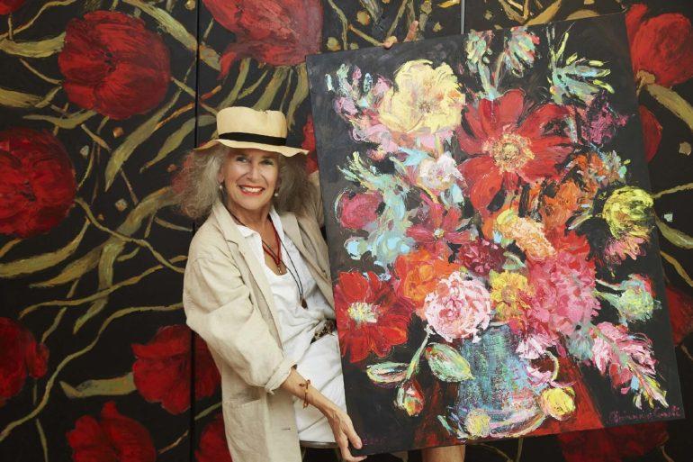 """นิทรรศการ """"Arianna Caroli : Artist in Residence"""" ถ่ายทอดพลังแห่งดอกไม้งามผ่านงานศิลปะ 7-18 ก.พ. นี้ ที่เซ็นทรัล เอ็มบาสซี 13 - Arianna Caroli"""