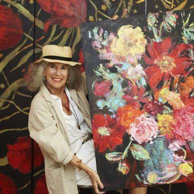 """นิทรรศการ """"Arianna Caroli : Artist in Residence"""" ถ่ายทอดพลังแห่งดอกไม้งามผ่านงานศิลปะ 7-18 ก.พ. นี้ ที่เซ็นทรัล เอ็มบาสซี 19 - Arianna Caroli"""