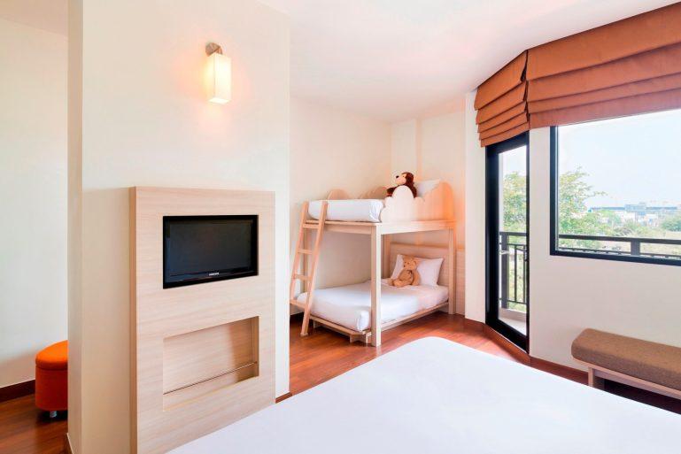 แพ็คเกจห้องแฟมิลี่ราคาพิเศษ ที่โรงแรมไอบิส เอราวัณ ประเทศไทย 13 -