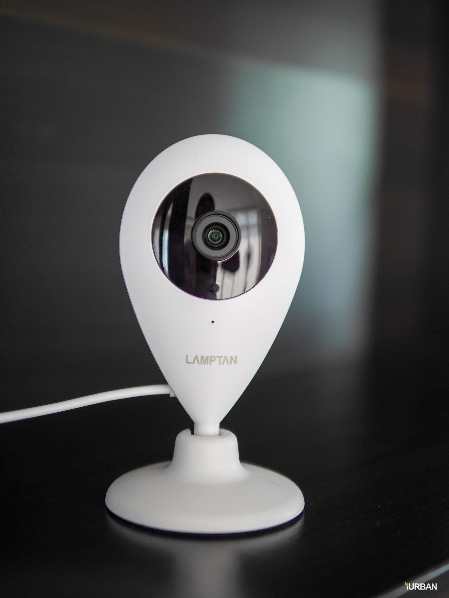 รีวิว LAMPTAN Smart Home Security Kit ชุดกล้องวงจรปิดและเตือนประตูเปิดไปมือถือ พร้อมชุดติดตั้งเองได้ 25 - App