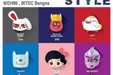 เตรียมพบ 9 สุดยอดสินค้าคาแรคเตอร์ของไทยในงานเดียว TOP Thai Characters Licensing in STYLE 2018 18 -