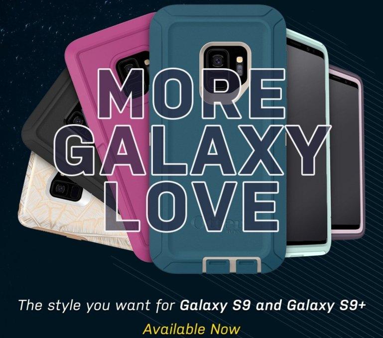 เคสกันกระแทก OtterBox จัดเต็มทุกรูปแบบ สำหรับแฟนพันธุ์แท้ Sumsung Galaxy S9, S9+ ภายใต้ชื่อ More Galaxy Love 13 -