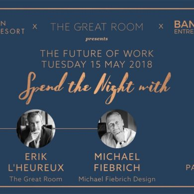 The Future of Work : Spend a Night With James Pitchon, Erik L'heureux and Michael Fiebrich at The Great Room 16 -