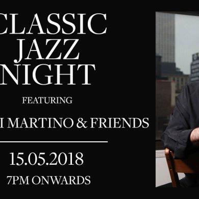 ดื่มด่ำไปกับค่ำคืนสุดพิเศษกับนักดนตรีแจ๊ส จอห์น ดิ มาร์ติโน่จากอเมริกา ณ เซสท์บาร์ แอนด์ เทอร์เรส โรงแรม เดอะ เวสทินแกรนด์ สุขุมวิท 16 -