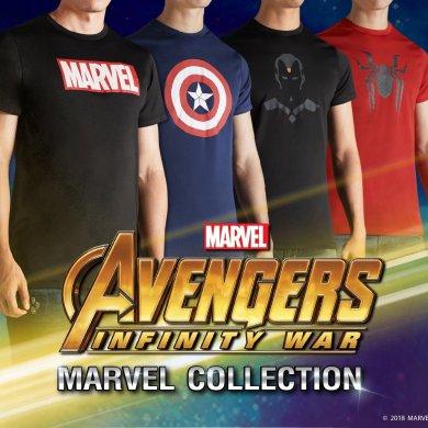 สาวกมาร์เวลห้ามพลาด! กับเสื้อยืด Mc Jeans Marvel Collection 14 -