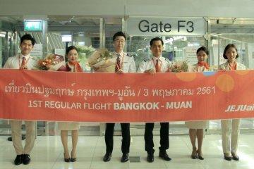 เจจูแอร์เปิดเส้นทางบินใหม่ กรุงเทพ-มูอัน