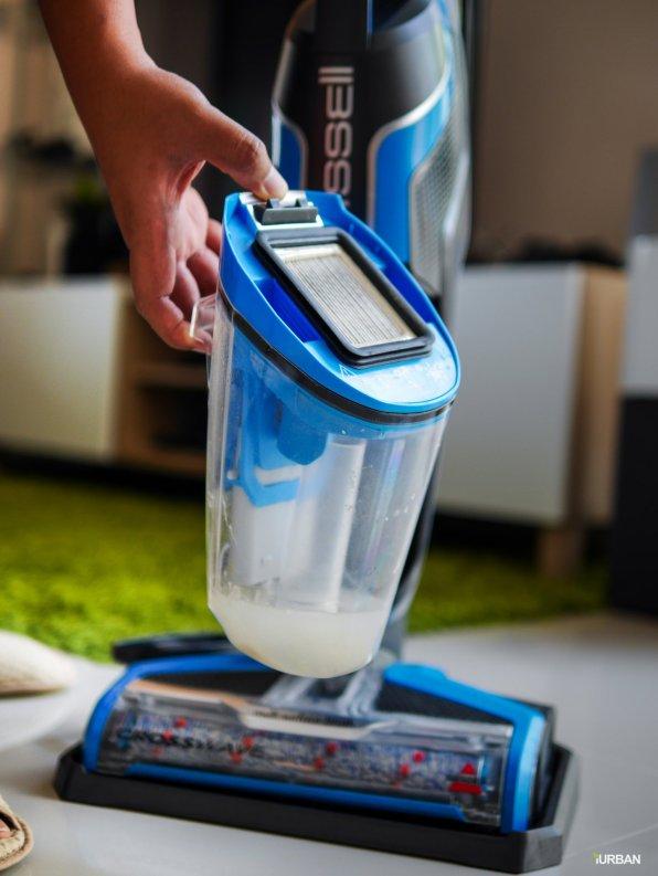 "%name Bissell Crosswave รีวิวนวัตกรรมเครื่องทำความสะอาด 3 in 1 ดูดเปียก ล้าง ถูแห้ง ""ในครั้งเดียว"""