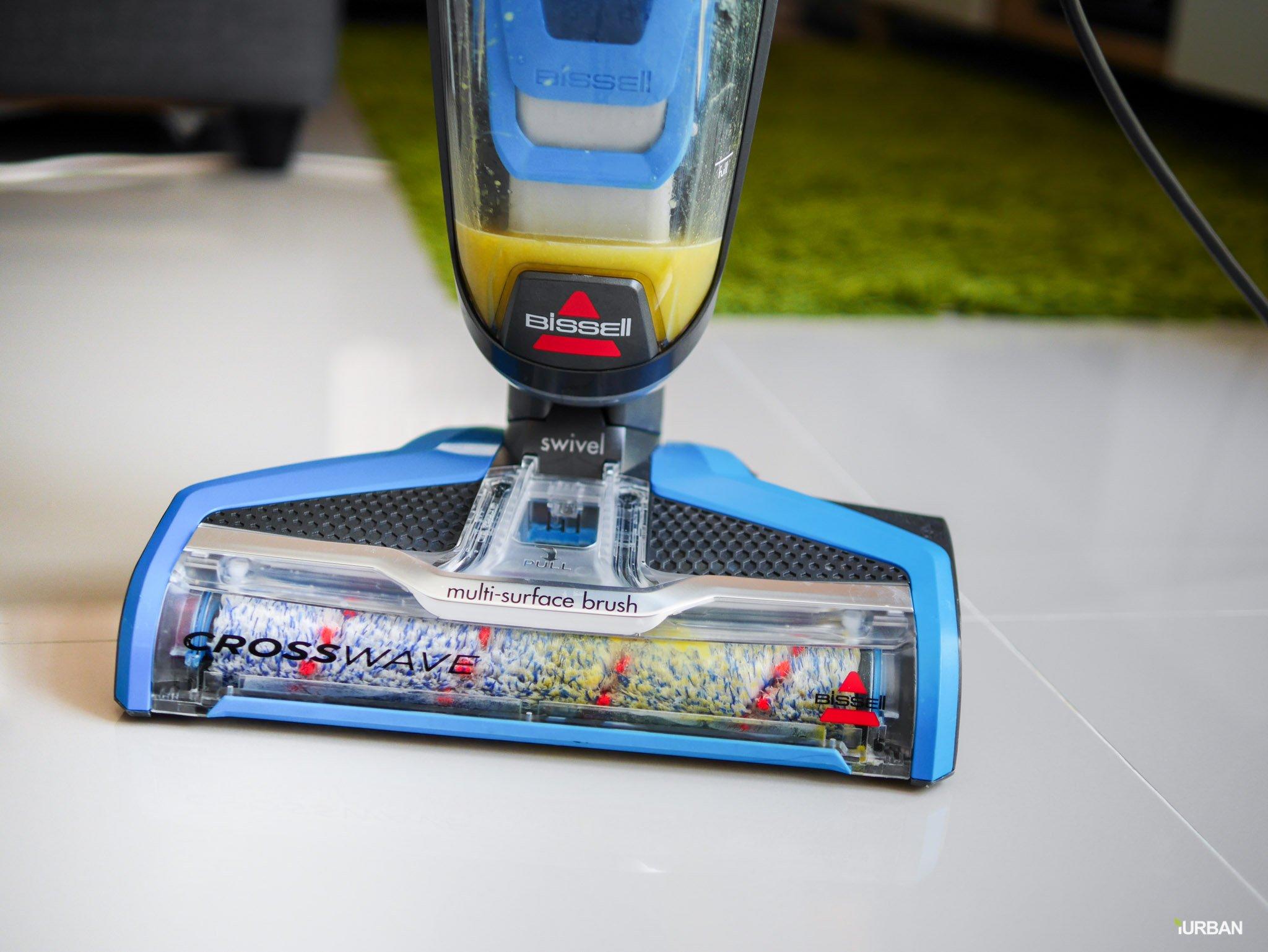 "Bissell Crosswave รีวิวนวัตกรรมเครื่องทำความสะอาด 3-in-1 ดูดเปียก-ล้าง-ถูแห้ง ""ในครั้งเดียว"" 19 - Bissell"
