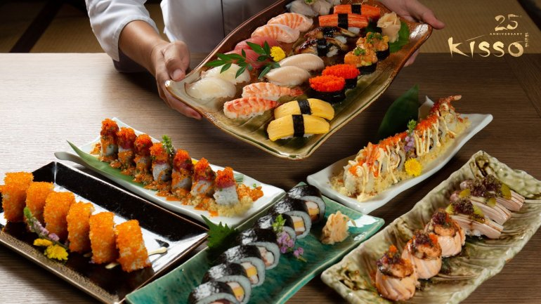 ฉลองครบรอบ 25 ปี นำเสนอเมนูพิเศษ ห้องอาหารญี่ปุ่นคิสโสะ โรงแรม เดอะ เวสทิน แกรนด์ สุขุมวิท 13 -