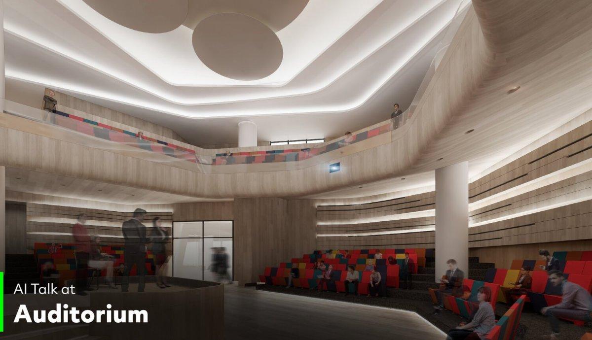 Auditorium ทรู ดิจิทัล พาร์ค...Global Destination ของคนดิจิทัลแห่งแรกในไทย ใหญ่ที่สุดในเอเชียตะวันออกเฉียงใต้ พร้อมเปิดให้สัมผัส Digital Lifestyle ปลายปีนี้!