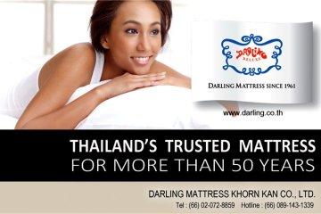 """""""ที่นอนดาร์ลิ่ง""""ผลิตภัณฑ์ที่นอนและเครื่องนอนของไทย ที่เชื่อถือได้มานานกว่า 50 ปี 12 -"""