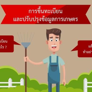 ขึ้นทะเบียนเกษตรกรปี 2561 15 -