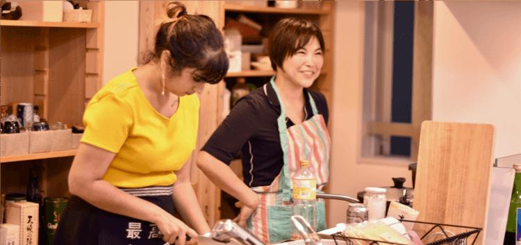 airkitchen2 750x354 ท่องเที่ยวสไตล์ใหม่สัมผัสรสชาติอาหารแนว Home cooking จากชาวญี่ปุ่น