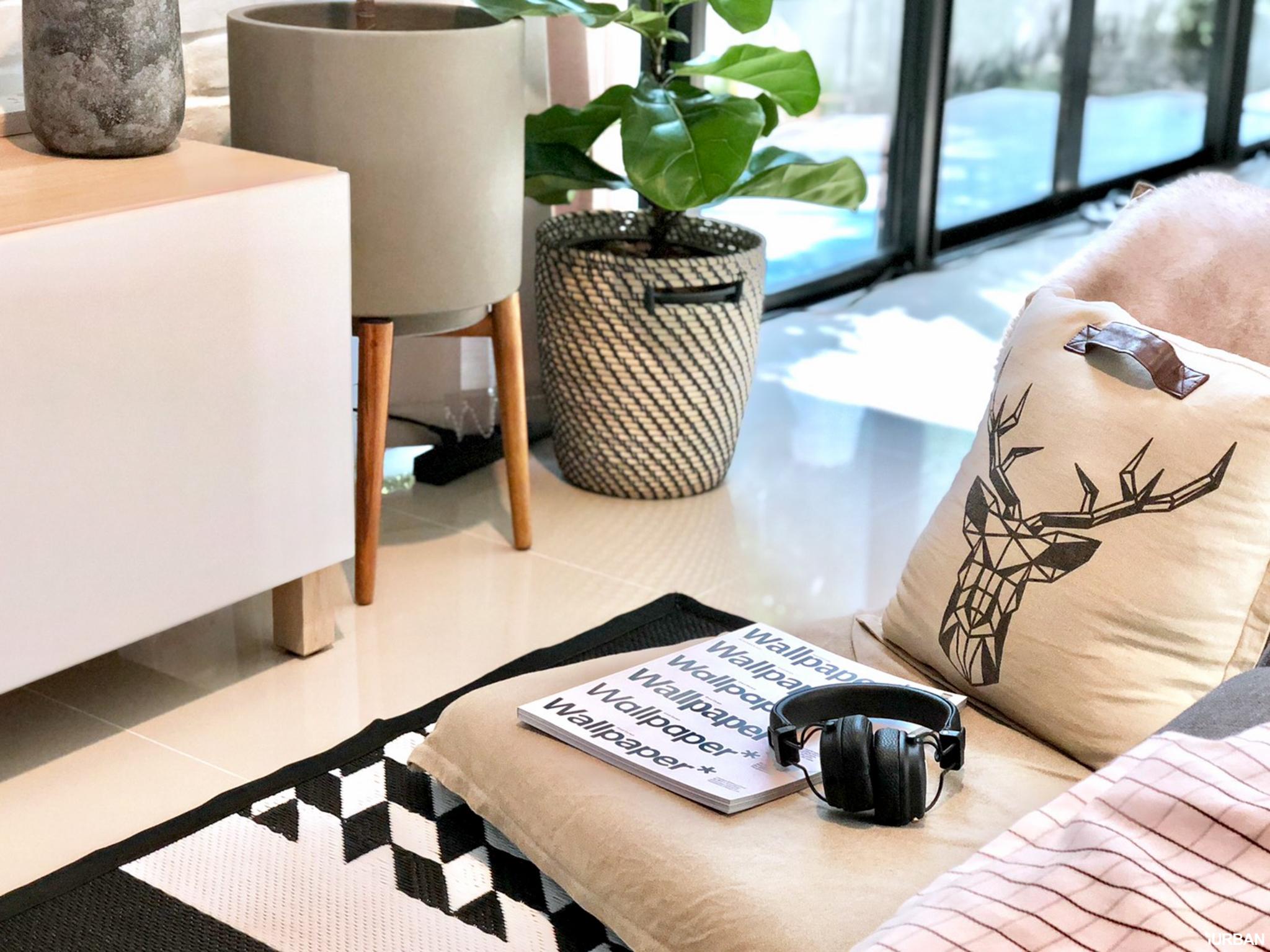 How to เปลี่ยนห้องนั่งเล่นเป็นสไตล์ Nordic ทำเองได้ ง่ายนิดเดียว! 47 - Nordic