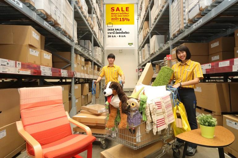 """อิเกีย จัดเต็มมอบของขวัญส่งท้ายปี """"IKEA YEAR-END SALE""""  พิเศษกว่าครั้งไหน! สมาชิก IKEA FAMILY ลดเพิ่มอีก 15%  26 ธันวาคม 61 – 6 มกราคม 62 20 - IKEA (อิเกีย)"""