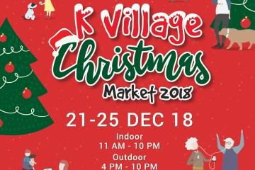 K Village Christmas Market 2018 ช้อป ชิม ชิลล์ส่งท้ายปี พบกับสินค้า กิจกรรมสุดสนุก และโชว์ดี ๆ ที่คุณไม่ควรพลาด 12 -