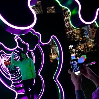 ชมสีสันไฟประดับใจกลางฮ่องกงในงาน Hong Kong Pulse Light Festival 14 -