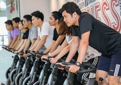 ปั่น ปั่น ไปกับ คลาส V Bike เคล็ดลับเพื่อหุ่นสวยสุขภาพดี ณ LIFESTYLES ON 26 14 -