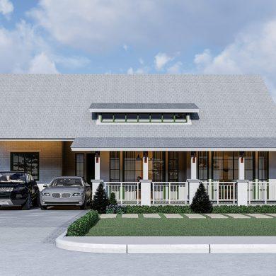 สร้างบ้านตากอากาศสไตล์รีสอร์ท พร้อมบ้านตัวอย่างจริงให้เข้าชม 16 -