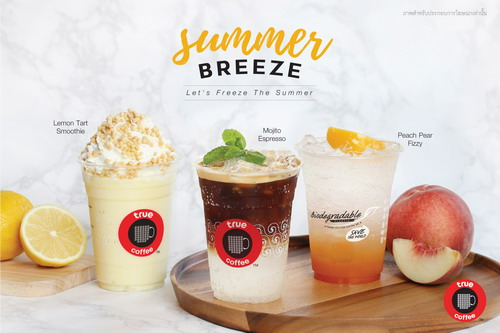 ทรูคอฟฟี่ เปลี่ยนหน้าร้อนให้เย็นชื่นใจด้วย 3 เมนูใหม่สไตล์ Summer Breeze 13 -