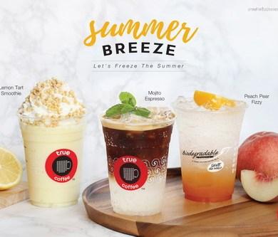 ทรูคอฟฟี่ เปลี่ยนหน้าร้อนให้เย็นชื่นใจด้วย 3 เมนูใหม่สไตล์ Summer Breeze 14 -