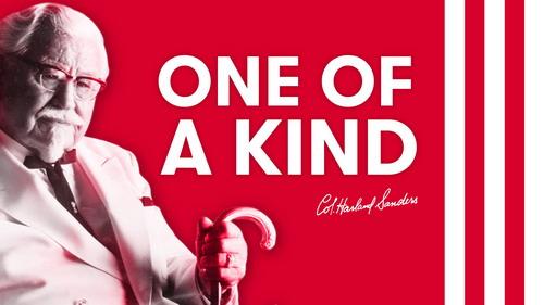 """KFC ยืนหนึ่งตำนานความอร่อย ตอกย้ำความเป็นตัวจริงแบบ """"ONE OF A KIND"""" 13 -"""