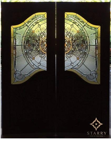 Starry Door - ประตูกระจกสเตนกลาส ประตูไม้ ประตูกระจกนิรภัย กระจกประดับบ้าน 13 -