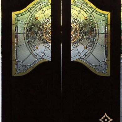 Starry Door - ประตูกระจกสเตนกลาส ประตูไม้ ประตูกระจกนิรภัย กระจกประดับบ้าน 14 -