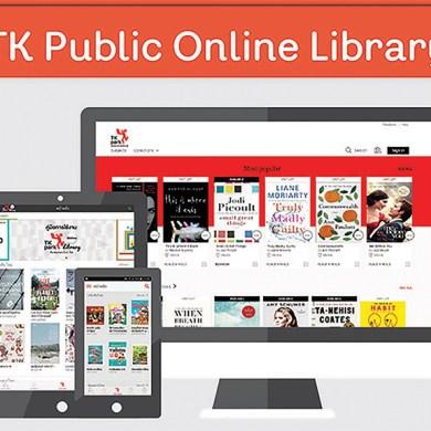 "TK park เสริมแกร่งให้ห้องสมุดออนไลน์ ""TK Public Online Library"" 25 - books"