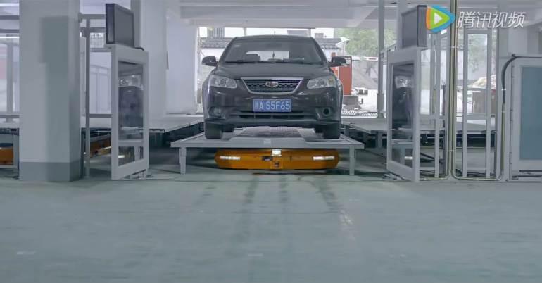 ไม่ต้องหาที่จอดเองแล้ว หุ่นยนต์จอดรถ HikVision ช่วยคุณได้ 21 - building
