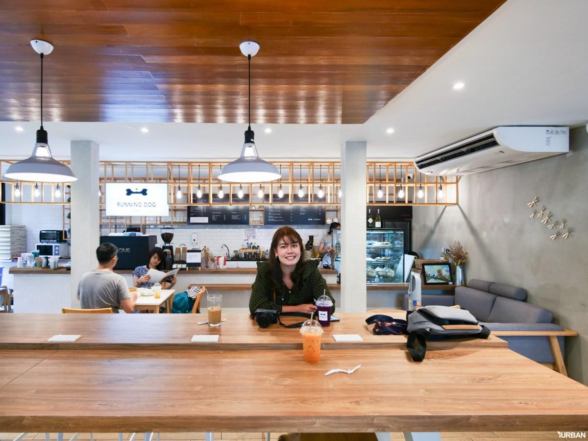 The Running Dog Cafe ร้านกาแฟ #หมาเข้าได้ สไตล์สถาปนิก ย่านสาทร 23 - cafe