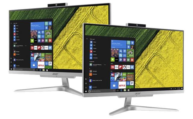 10 คอมพิวเตอร์ตั้งโต๊ะ ราคาถูก 2019 ดีไซน์สวย สเป็คดี 50 - Acer