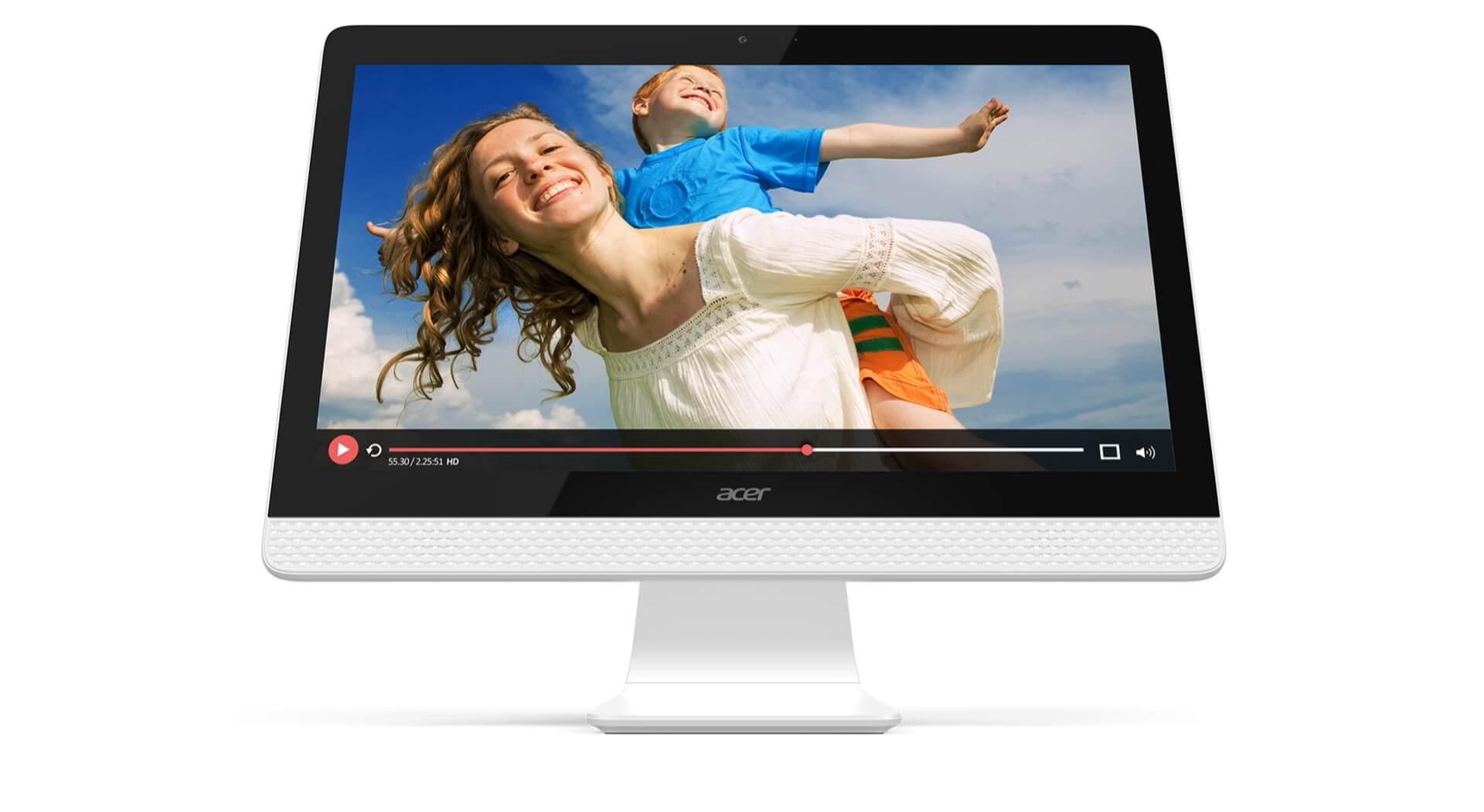 10 คอมพิวเตอร์ตั้งโต๊ะ ราคาถูก 2019 ดีไซน์สวย สเป็คดี 39 - Acer
