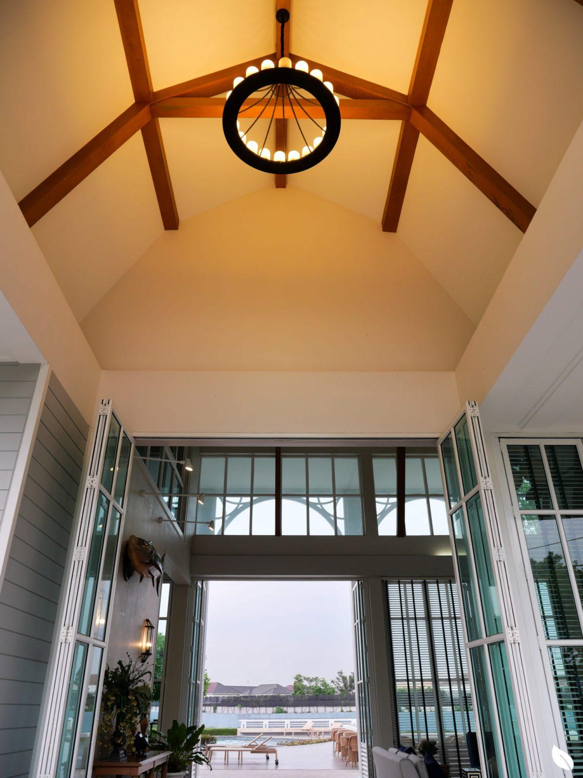 รีวิว บุราสิริ ปัญญาอินทรา บ้านเดี่ยวสวยสไตล์ New England Colonial ส่วนกลางกว่า 13 ไร่โดย SANSIRI 32 - burasiri
