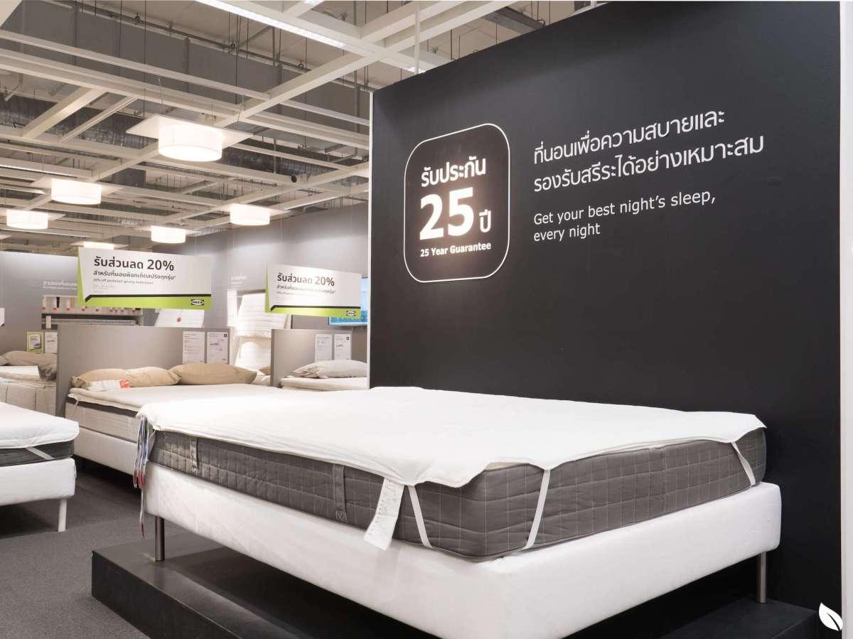 """16 เหตุผลว่าทำไมเราถึงอยากแนะนำให้คุณใช้ """"ที่นอน IKEA"""" 17 - Bedroom"""