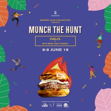 Sansiri Club Collection Presents Munch the Hunt ประสบการณ์ใหม่กับข้อเสนอสุดพิเศษ พร้อมเมนูเด็ดจากร้านดัง เพียงเยี่ยมชม Sales Gallery ของ Sansiri Club Collection 4 แบรนด์ไลฟ์สไตล์ THE LINE, HAUS, XT และ THE BASE 16 -