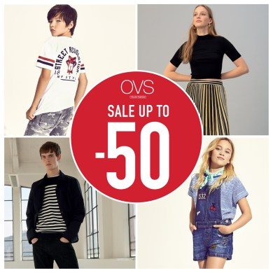 OVS END OF SEASON SALE 16 -