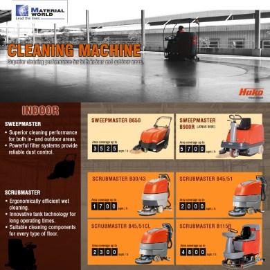 [Cleaning Machine] รถทำความสะอาดพื้น ตอบโจทย์การใช้งานทั้งภายใน และภายนอกอาคาร 14 -