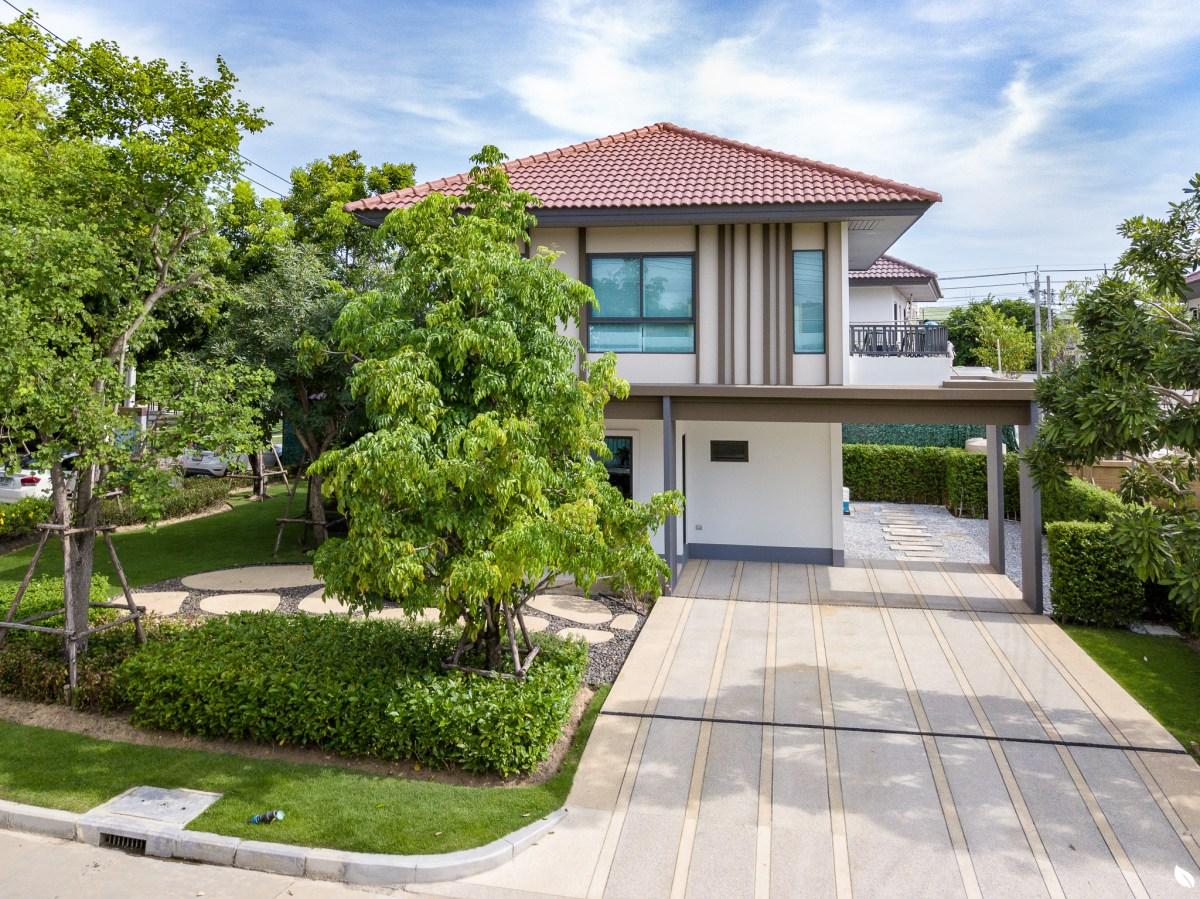 ฮาบิเทีย พาร์ค เทียนทะเล 28 รีวิวบ้านที่ดินใหญ่ 100 ตร.ว. ราคาเริ่มแค่ 6.99 ล้าน บ้านจากแสนสิริย่านพระราม 2