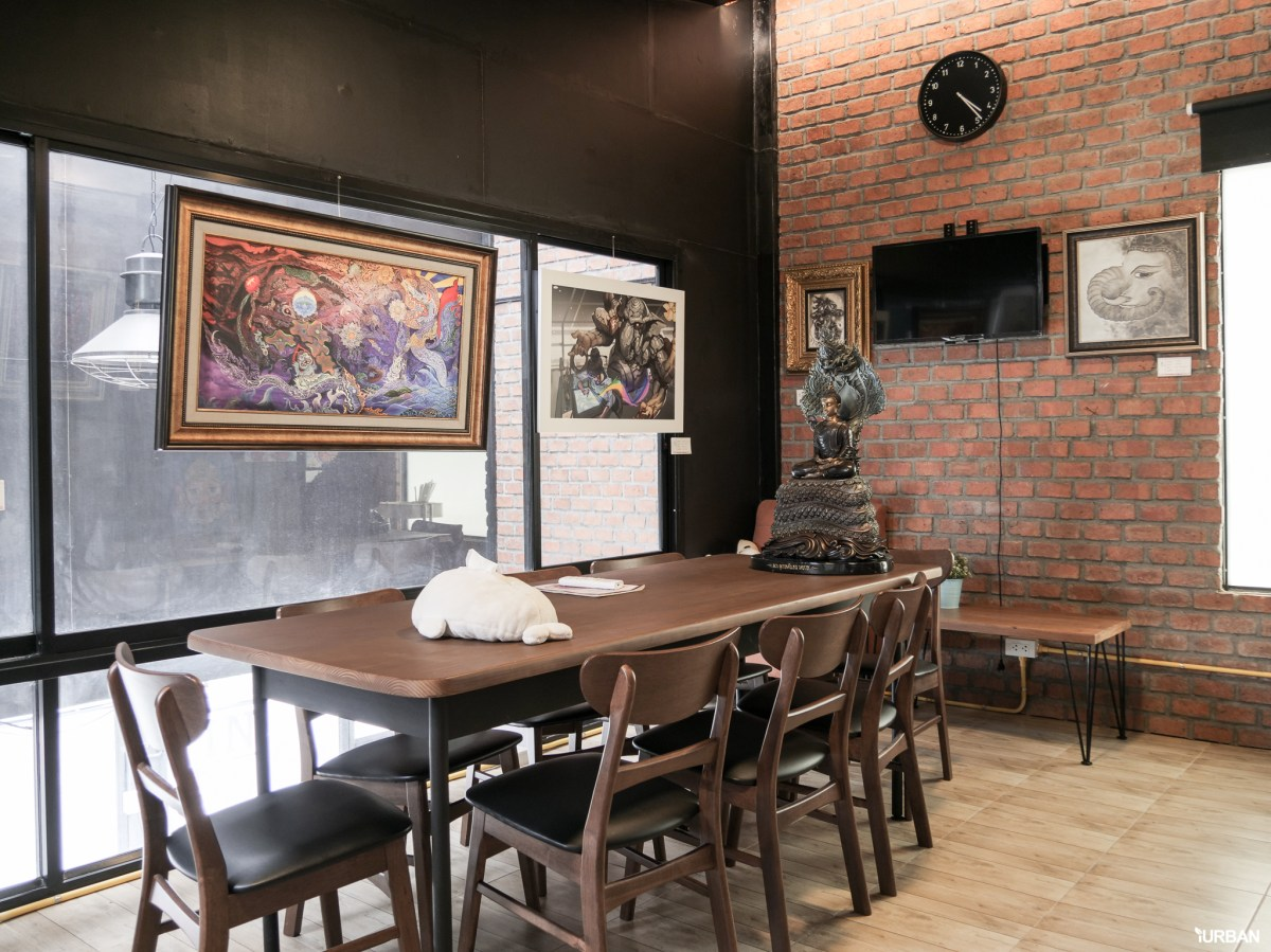 "7 Simply Creative Cafe & Bar ในย่านไลฟ์สไลต์สุดฮิป กับ 24 Hr. Co-Working Space กลาง New Interchange ""รัชดา - ลาดพร้าว"" 57 - cafe"