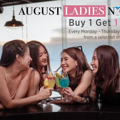 """""""AUGUST LADIES NIGHT Buy 1 Get 1 Free"""" 16 -"""