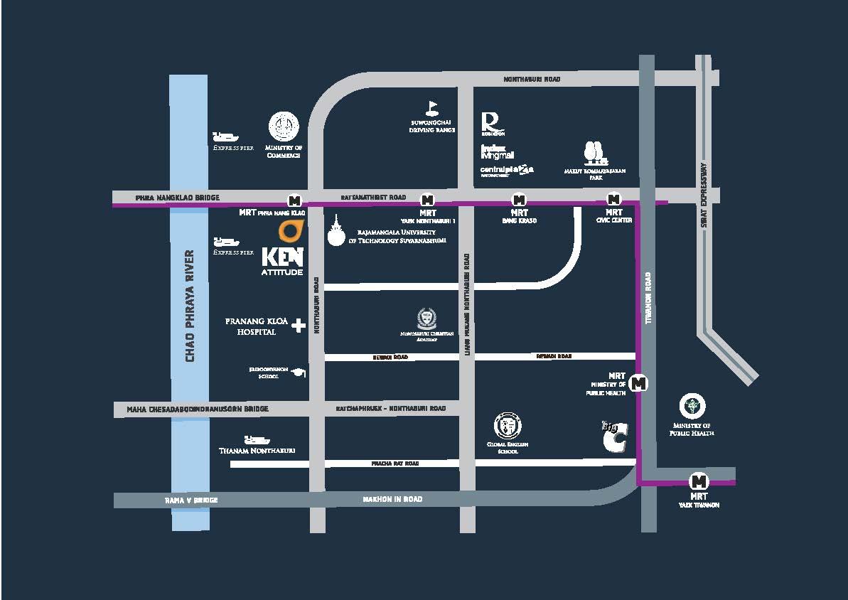 """เดอะวัน เอสเตท จับมือพรีโม เรียลเตอร์ เปิดตัว Ken Attitude"""" รัตนาธิเบศร์ MRT สถานีพระนั่งเกล้า 18 -"""