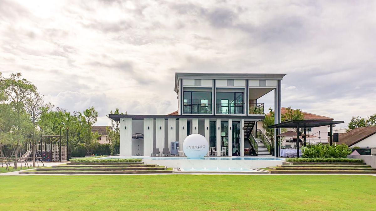 รีวิว URBANIO วิภาวดี-แจ้งวัฒนะ พรีเมียมทาวน์โฮม 3 ชั้นสุดสวย ใกล้สถานี Interchange เริ่ม 5.59 ล้าน จาก Ananda 117 - Premium