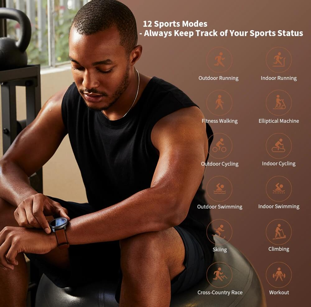 "Amazfit GTR : Smart Watch หน้าปัทม์จอ AMOLED ""วัดหัวใจบันทึกชีพจรและจำนวนก้าวตลอดเวลา"" แบตอึดสุด 24 วัน! 35 - Highlight"
