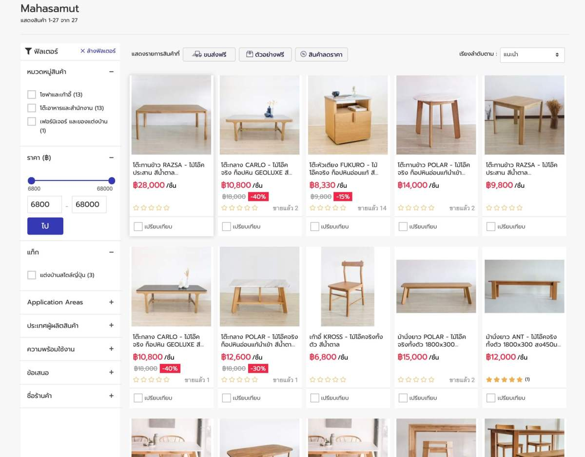 """15 แบรนด์ดัง """"วัสดุและของแต่งบ้าน"""" เล็งเห็นโอกาสบนโลกออนไลน์ ร่วมมือ NocNoc.com แหล่งรวมร้านค้าสำหรับคนรักบ้าน 16 - Marketplace"""